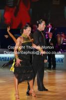 Emanuele Soldi & Elisa Nasato at WDC Professional European Latin Championships