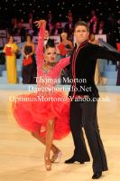 Kirill Belorukov &amp; Elvira Skrylnikova at UK Open 2013
