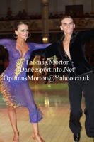 Dominik Rudnicki & Adrianna Lojszczyk at Blackpool Dance Festival