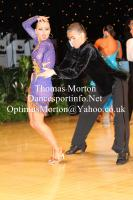 Dominik Rudnicki & Adrianna Lojszczyk at UK Open 2012