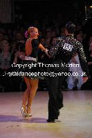 Franco Formica &amp; Oxana Lebedew at Blackpool Dance Festival 2009