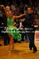 Franco Formica & Oxana Lebedew at 23. German Open Championships