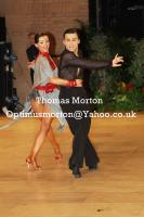 Denys Drozdyuk &amp; Antonina Skobina at UK Open 2011