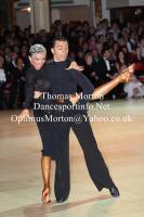 Denys Drozdyuk & Antonina Skobina at Blackpool Dance Festival 2012