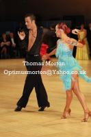 Manuel Frighetto & Karin Rooba at UK Open 2011