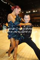 Manuel Frighetto & Karin Rooba at UK Open 2010