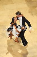 Stefano Moriondo & Malene Ostergaard at The International Championships
