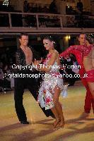 Stefano Moriondo & Malene Ostergaard at Blackpool Dance Festival 2009