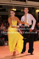 Danny Stowell & Kate Moore at Blackpool Dance Festival
