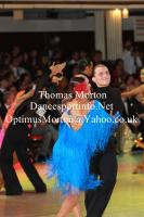 Evgeni Smagin & Polina Kazatchenko at Blackpool Dance Festival