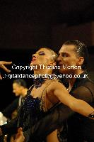 Evgeni Smagin & Polina Kazatchenko at UK Open 2009