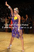 Evgeni Smagin & Polina Kazatchenko at UK Open 2010