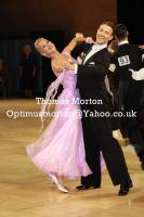 Arunas Bizokas & Katusha Demidova at UK Open 2011