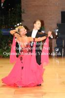 Arunas Bizokas & Katusha Demidova at UK Open 2012