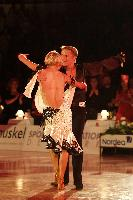 Peter Stokkebroe & Kristina Stokkebroe at 10th Aarhus International Gala 2007