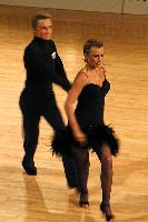 Peter Stokkebroe & Kristina Stokkebroe at Junckers International Galla & Aarhus Open 2003