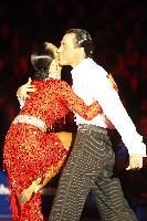 Sergey Sourkov & Agnieszka Melnicka at 2009 WDC European Latin Championship