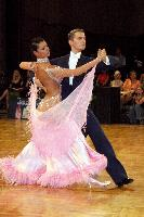 Domen Krapez & Monica Nigro at German Open 2006