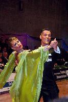Simone Segatori & Annette Sudol at German Open 2006