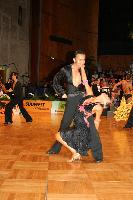 Alex Wei Wang & Roxie Jin Chen at German Open 2007