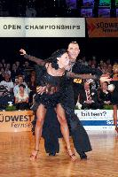 Sergey Sourkov & Agnieszka Melnicka at German Open 2006