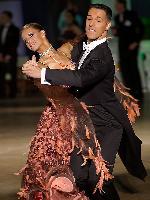 Simone Segatori & Annette Sudol at Polish Open 2007