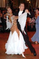 Domen Krapez & Monica Nigro at Blackpool Dance Festival 2004