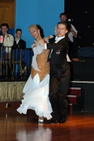 Domen Krapez & Monica Nigro at English Open Championships