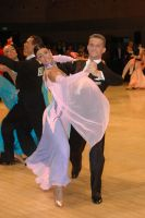 Domen Krapez & Monica Nigro at UK Open 2006