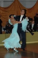 Domen Krapez & Monica Nigro at Crystal Palace Cup 2006