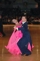 Domen Krapez & Monica Nigro at Dutch Open 2007