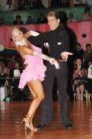 Jurij Batagelj & Jagoda Batagelj at Dutch Open 2004