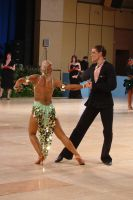 Jurij Batagelj &amp; Jagoda Batagelj at UK Open 2004
