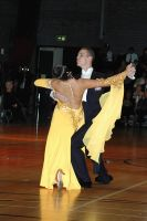 Alex Sindila & Katie Gleeson at International Championships 2005
