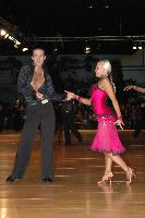 Andrew Cuerden & Hanna Haarala at Dutch Open 2007