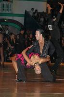 Andrew Cuerden &amp; Hanna Haarala at Dutch Open 2007
