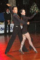 Mikko Kaasalainen & Adrienn Fitori at The Imperial Ballroom and Latin American Championships 2004