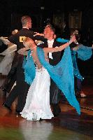 Alessio Potenziani & Veronika Vlasova at The Imperial Ballroom and Latin American Championships 2004