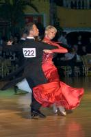 Alessio Potenziani & Veronika Vlasova at Dutch Open 2004