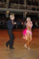 Peter Stokkebroe & Kristina Stokkebroe at Blackpool Dance Festival 2005