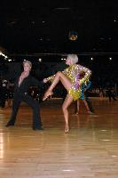 Peter Stokkebroe & Kristina Stokkebroe at Dutch Open 2007
