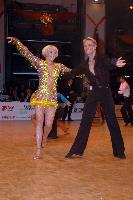Peter Stokkebroe & Kristina Stokkebroe at World Masters 2007