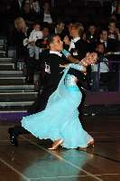 Marco Lustri & Alessia Radicchio at The International Championships