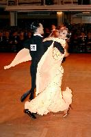 Victor Fung &amp; Anna Mikhed at Blackpool Dance Festival 2004