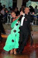 Dmytro Wloch & Olga Urumova at The Imperial Ballroom and Latin American Championships 2004