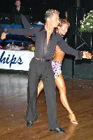 Jesper Birkehoj & Anna Anastasiya Kravchenko at The Imperial Ballroom and Latin American Championships 2004