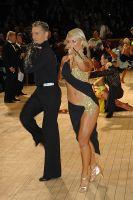 Jesper Birkehoj & Anna Anastasiya Kravchenko at International Championships 2005