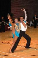 Massimo Regano & Silvia Piccirilli at The International Championships