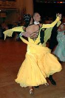 Nikolai Darin & Iulia Tutushina at Blackpool Dance Festival 2004
