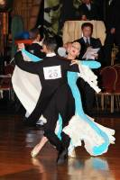 Daniele Gallaro &amp; Kimberly Taylor at Dutch Open 2004